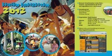 und Herbstferien für Kinder und Jugendliche im In- und Ausland ...