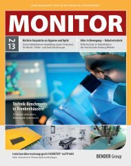 Technik-Benchmarks in Krankenhäusern Technik ... - Bender-DE