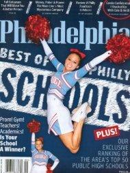 Philadelphia Magazine, September 09 Life at the Top