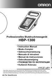 HBP-1300-E main1 - Omron Healthcare