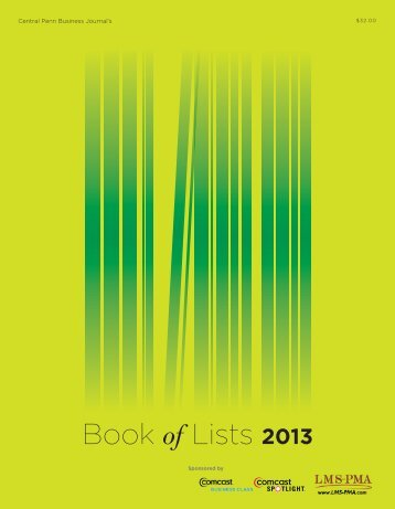 Book of Lists 2013 - Digital Publishing Software | Page Turning ...