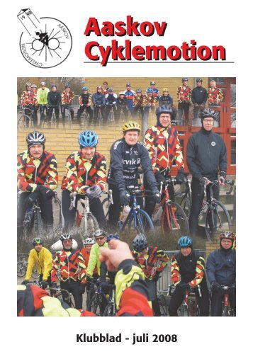 Klubblad juli 2008 - Kibæk Cykelmotion