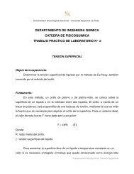 Tensión superficial - Facultad Regional La Plata - Universidad ...