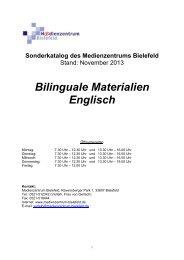 Englisch / Biologie - Medienzentrum Bielefeld
