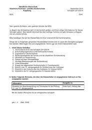 BOS - Staatliche Fachoberschule und Berufsoberschule Augsburg