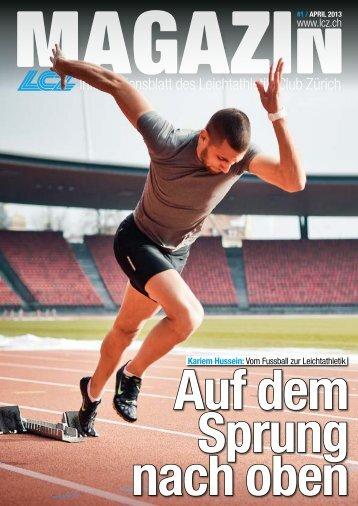 Informationsblatt des Leichtathletik-Club Zürich