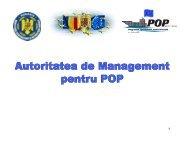 Autoritatea de Management pentru POP - prezentare ... - MADR