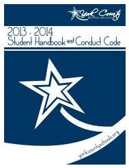 2013-2014 Student Handbook - York County Schools