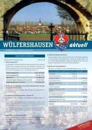 aktuell - Gemeinde Wülfershausen ad Saale