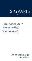 Tired, Aching Legs? Swollen Ankles? Varicose ... - Nova Vein Clinic