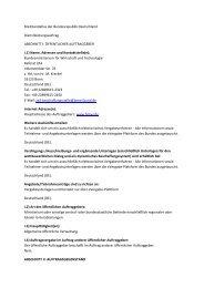 Ausschreibung für Kommunen - Weisse-Flecken.de