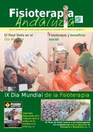 Fisioterapia Andaluza. Nº 50 - colfisio.org