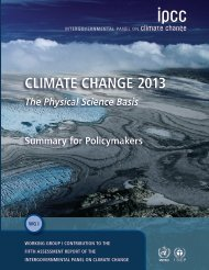 Climate Change 2013: The Physical Science Basis