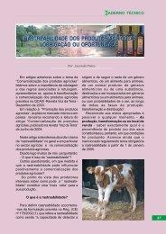Voz da Terra, Outubro 2004 -- Rastrabilidade dos produtos ... - CNA