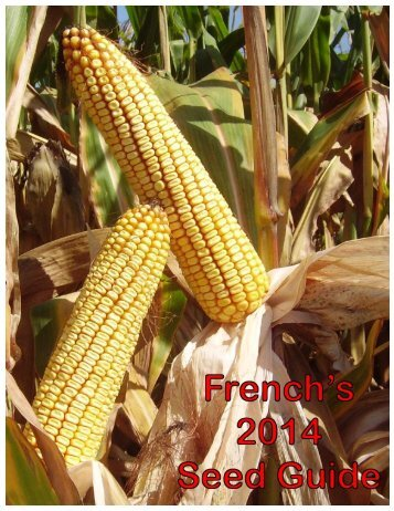 "Click HERE to download the ""French's 2014 Seed Guide"""