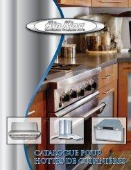 Hottes de cuisinières - Air King Ventilation Products