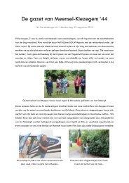 Reisverslag van donderdag 22 augustus 2013 - Stichting Meensel ...