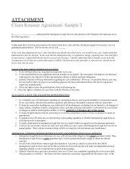 ATTACHMENT Client Retainer Agreement- Sample 2