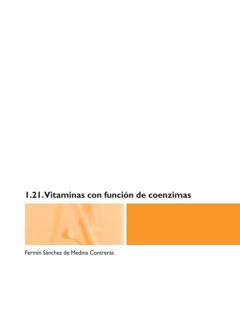 vitaminas hidrosolubles sus coenzimas derivadas y sus funciones