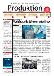 Ausgabe - 22 - 2011 - Produktion.de