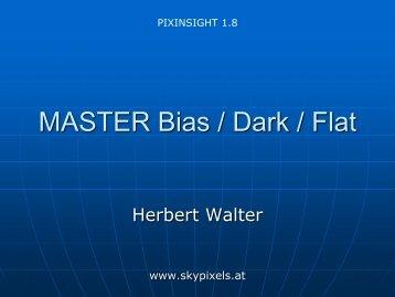 Erstellung von Master BIAS/DARK/FLAT - PDF - skypixels.at