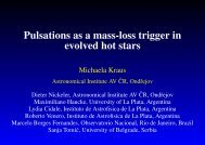 Pulsations as a mass-loss trigger in evolved hot stars