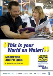 This is your World on Water! - London Boat Show