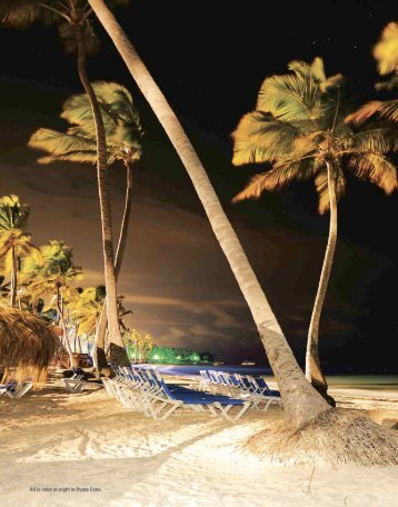 All is calm at night in Punta Cana. - Steve Larese