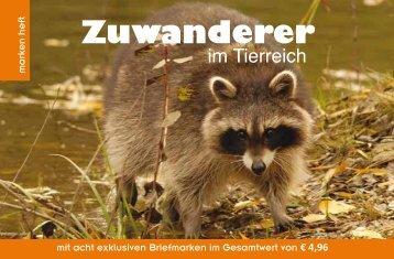 ZUWANDERER IM TIERREICH – Markenedition der ... - Peter Sehnal