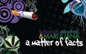 Drugs Alcohol and Tobacco: A Matter of Facts - Haldimand-Norfolk ...