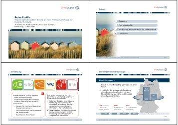 Projekte optimal besetzen: Einsatz des Reiss Profiles als Werkzeug ...