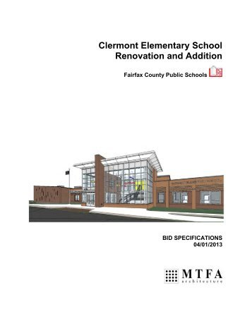 Clermont Elementary School Renovation and Addition - William F ...