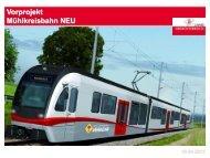 Vorprojekt Mühlkreisbahn-NEU: Präsentation im PDF Format