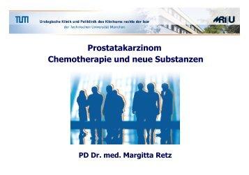 Prostatakarzinom Chemotherapie und neue Substanzen