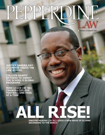 Download - Pepperdine Law Magazine - Pepperdine University