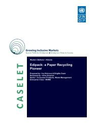 Edipack: a Paper Recycling Pioneer - Growing Inclusive Markets