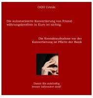 OGH Urteil - Integra Management - und Finanz - Services