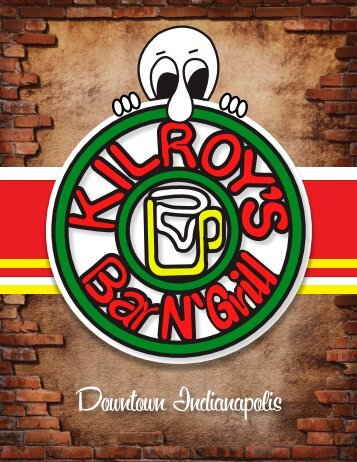 Download a pdf of our menu - Kilroy's Bar & Grill