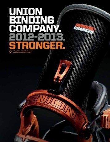 union binding company. 2012-2013. stronger. - Destiny Distribution ...