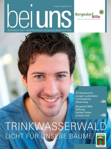 BEI UNS 3-2013 - Baugenossenschaft Bergedorf-Bille