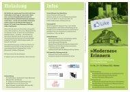 """""""Modernes"""" Erinnern - Gedenkstätten Schleswig Holstein"""