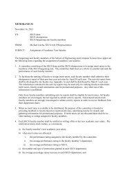 SECS Salary Committee Procedures