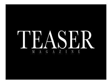 TEASER Magazine Preisliste 2014