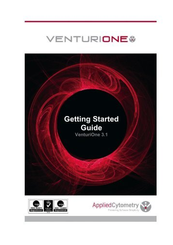 Getting Started Guide - Applied Cytometry