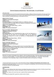 Geführte Schneeschuhtour (24. + 27. + 29.12.2013) - Hochpustertal