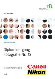 Broschüre Lehrgang Nr. 12 - zB. Zentrum Bildung ...
