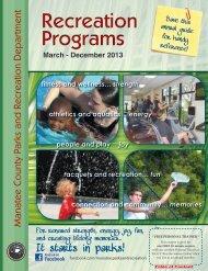 Recreation Programs Recreation Programs - Bradenton Gulf Islands