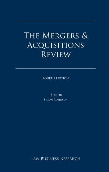 A The Mergers - Bowman Gilfillan Attorneys