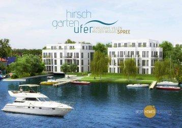 Die Hirschgartenufer Broschüre zum Download