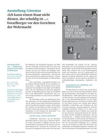 """""""Kultur"""" 7/2011, S. 38-40 - Johann-August-Malin-Gesellschaft"""